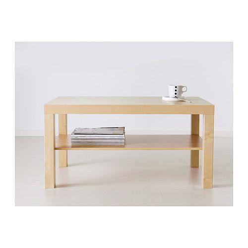 Lack mesa de centro blanco 90 x 55 cm compras ikea pinterest abedul ikea y mesas peque as - Mesa lack ikea medidas ...