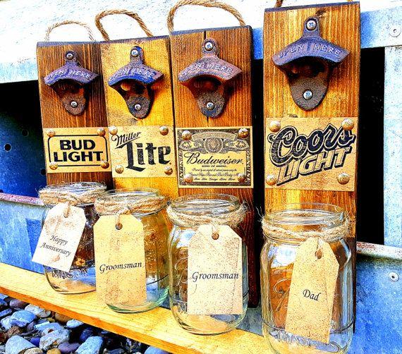 Groomsmen Gift, Rustic, Christmas Gift Idea, Beer Sign