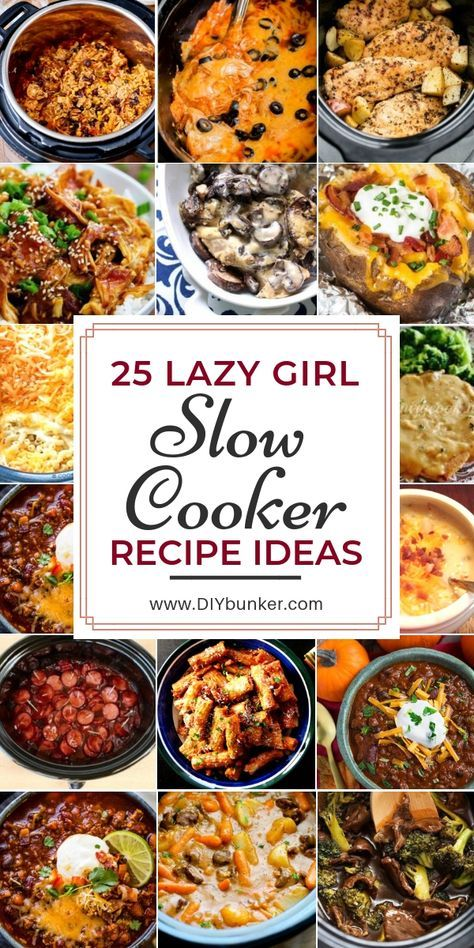 Can't wait to try out all of these easy slow cooker recipes!  #slowcooker #food #recipes #yum #foodrecipesmeals