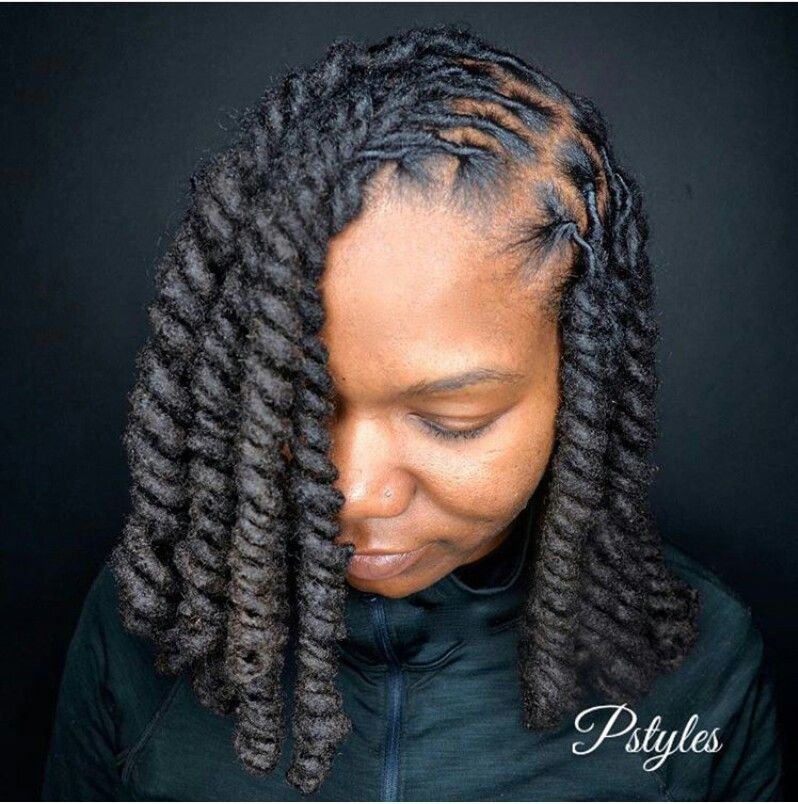 Dread Hairstyles These 3 Cute Flat Twist Hairstyles Take Winning Prize  For Being