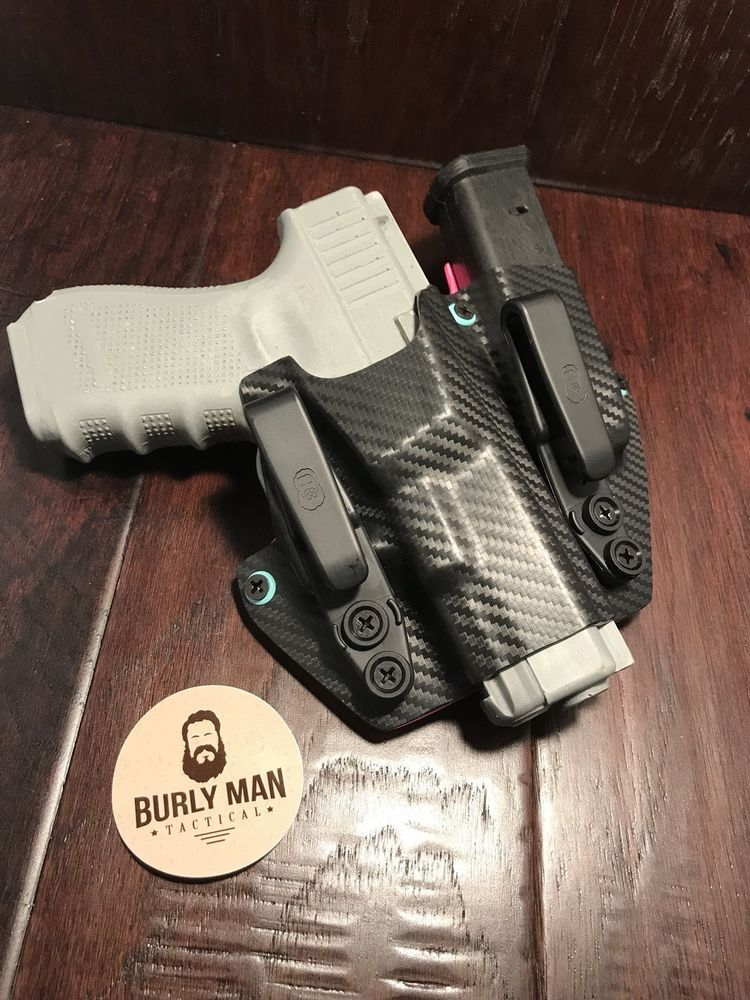 Fits Glock 20 G20 G-20 Kydex SideCar Holster IWB Appendix
