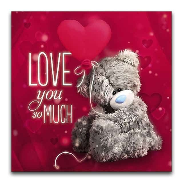FREE SHIPPING WORLDWIDE. Grab this Love you so much - Teddy Diamond Painting and take you home decor to next level. Free Gifts with Each order of Paintings #DIY #DIYart #Diamond #Painting #DiamondPainting