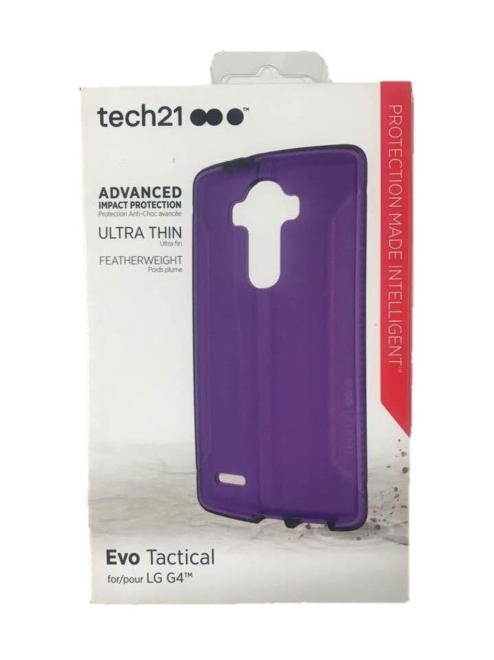 innovative design 5014b 65f24 Tech21 Evo Tactical Hardshell Case Slim Protect Cover For LG G4 ...
