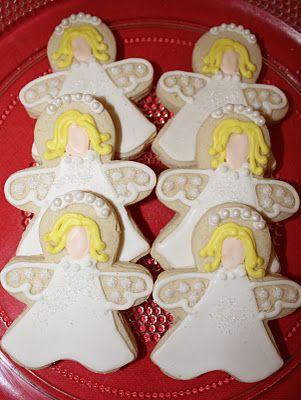 Angel Cookies Cookie Ideas Cookies Angel Cookies Christmas