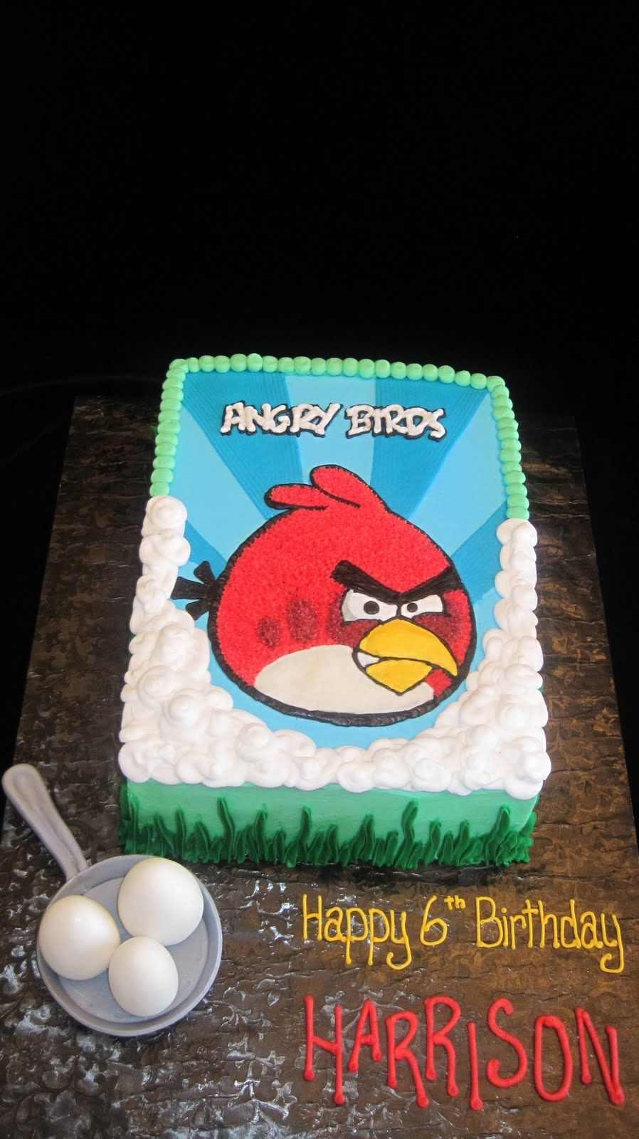 i crave cake Angry Birds Cakes and Cupcakes Pinterest Angry