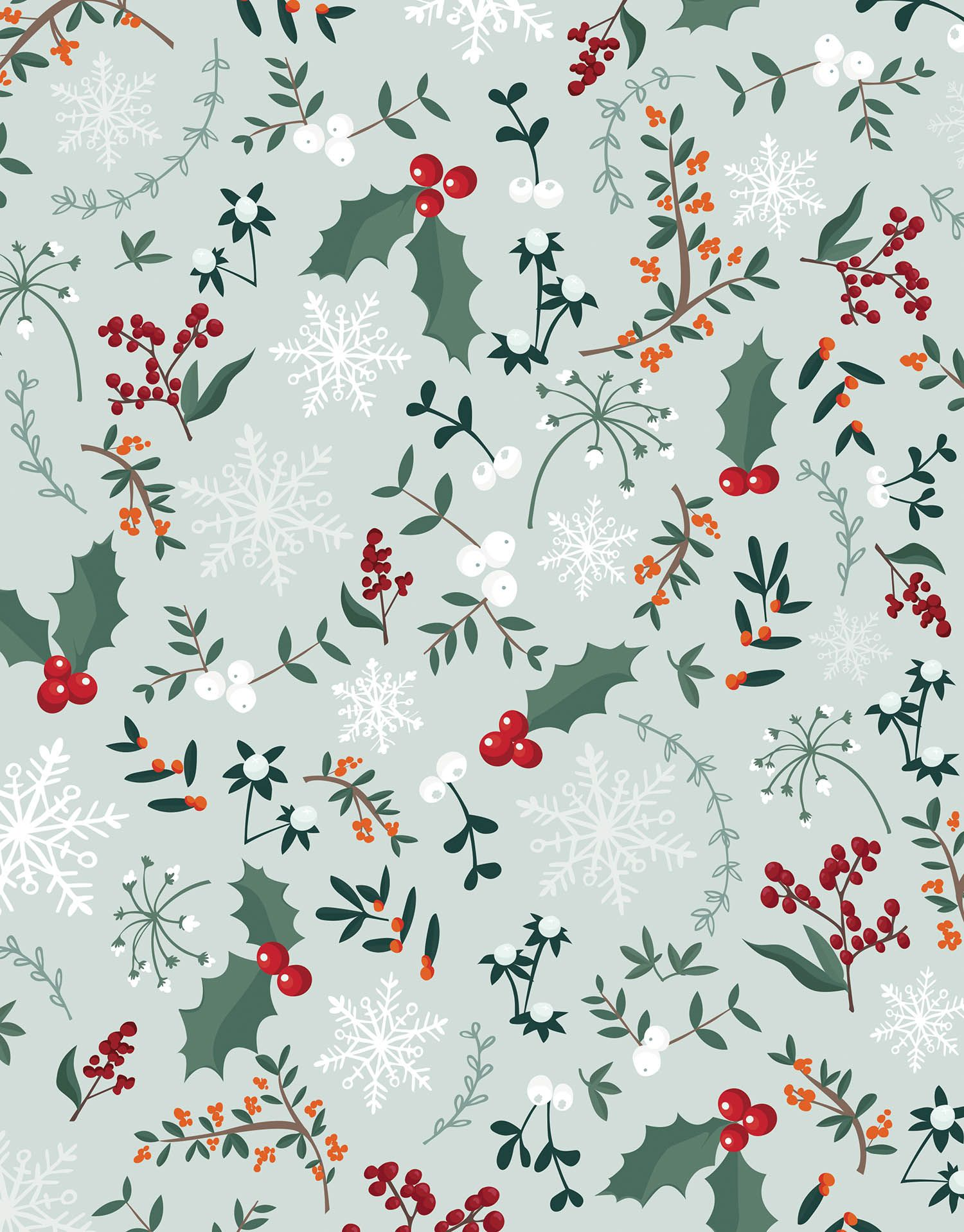 Christmas Pattern Festive Holly Berries Wallpaper Iphone Christmas Christmas Wallpaper Backgrounds Christmas Background