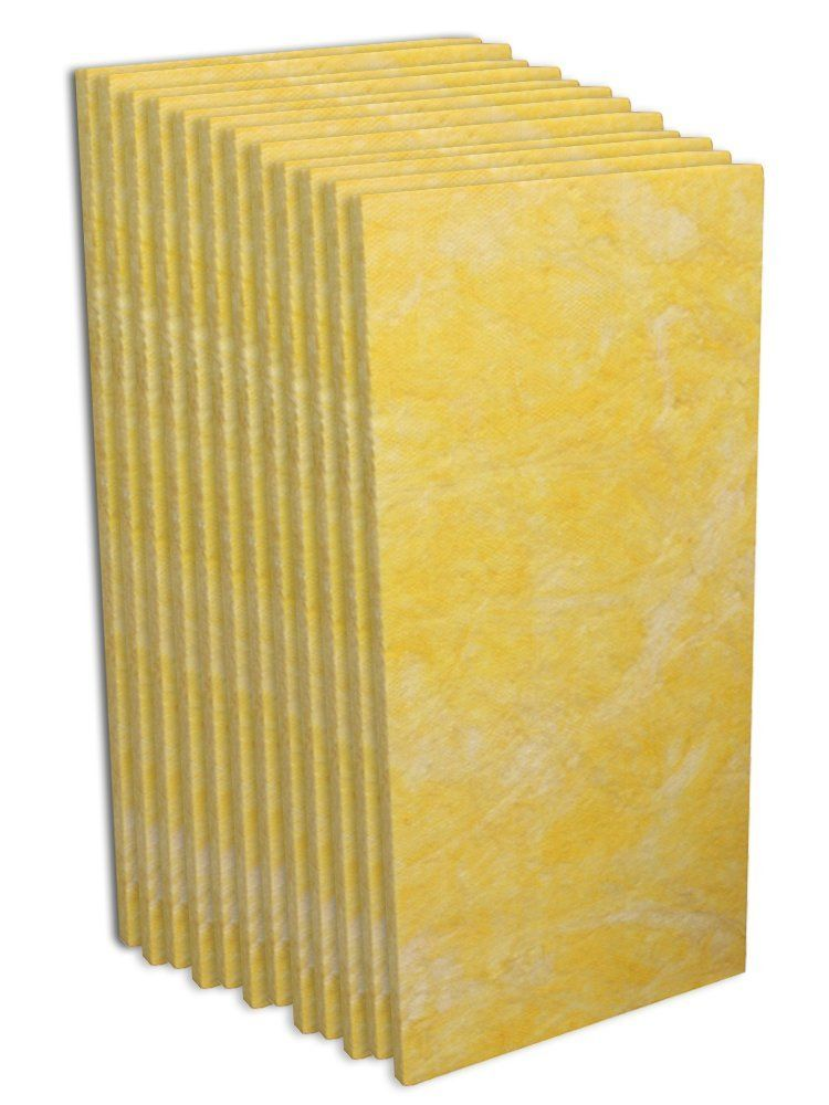 Acoustic Insulation Owens Corning 703 1 Inch Pack Of 12 Acoustic Insulation Recording Studio Furniture Acoustic Panels