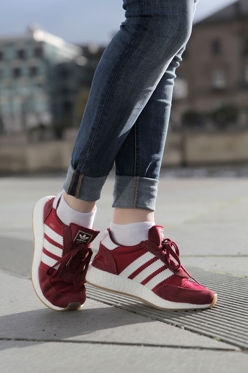 timeless design 25d37 3eb87 How to style Adidas Iniki Runner, Classic minimal street style, How to  style sneakers