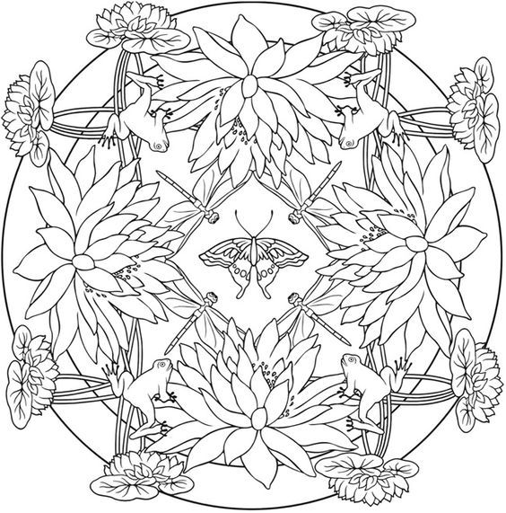 Berühmt Lotus Blume Mandala Malvorlagen Fotos - Entry Level Resume ...
