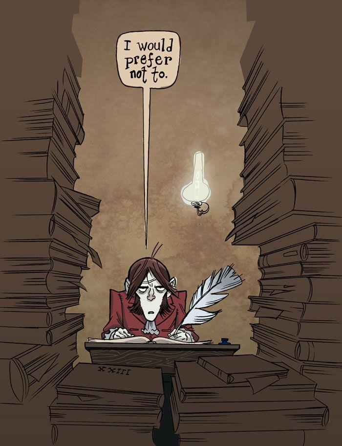 bartleby the scrivener short story
