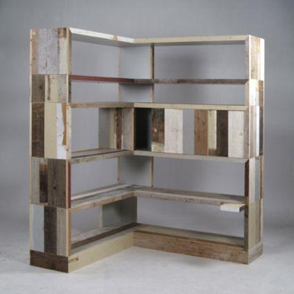 reclaimed wood corner shelves - Reclaimed Wood Corner Shelves Home Ideas Pinterest Corner