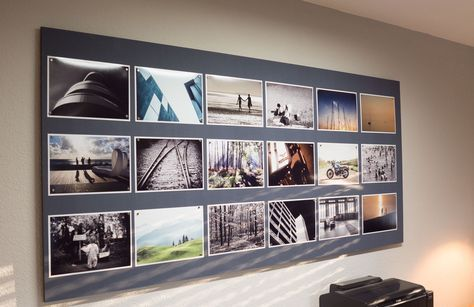 Idee Für Fotowand eine fotowand für die präsentation bildern ausführliche