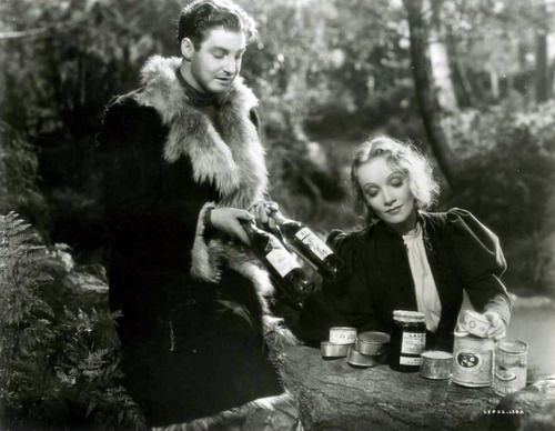 Robert Donat, Knight Without Armour, with Marlene Dietrich