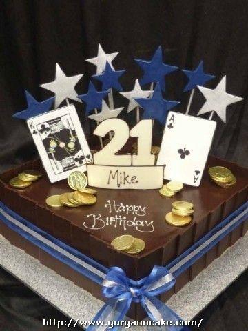 21st Birthday Cake Ideas For Him : birthday, ideas, Birthday, Cakes, Cakes,, Guys,