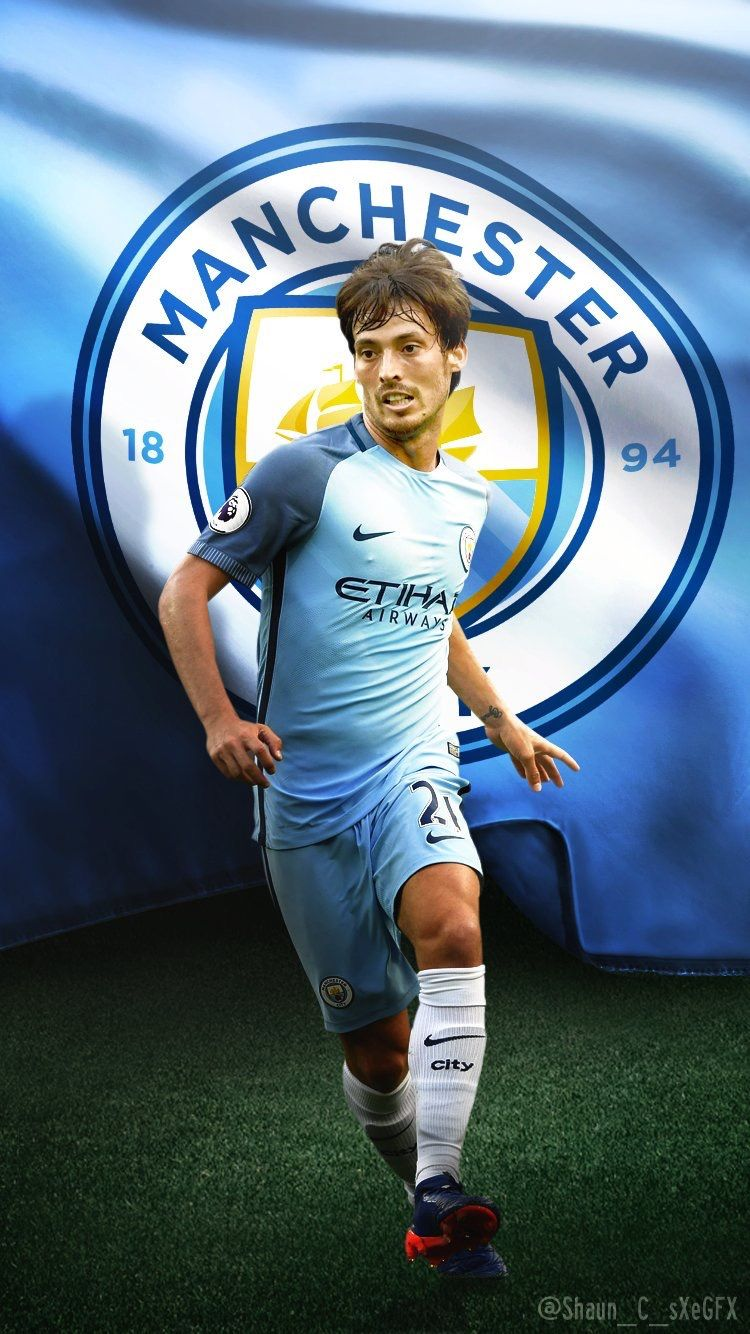 David Silva Manchester City Manchester City Wallpaper