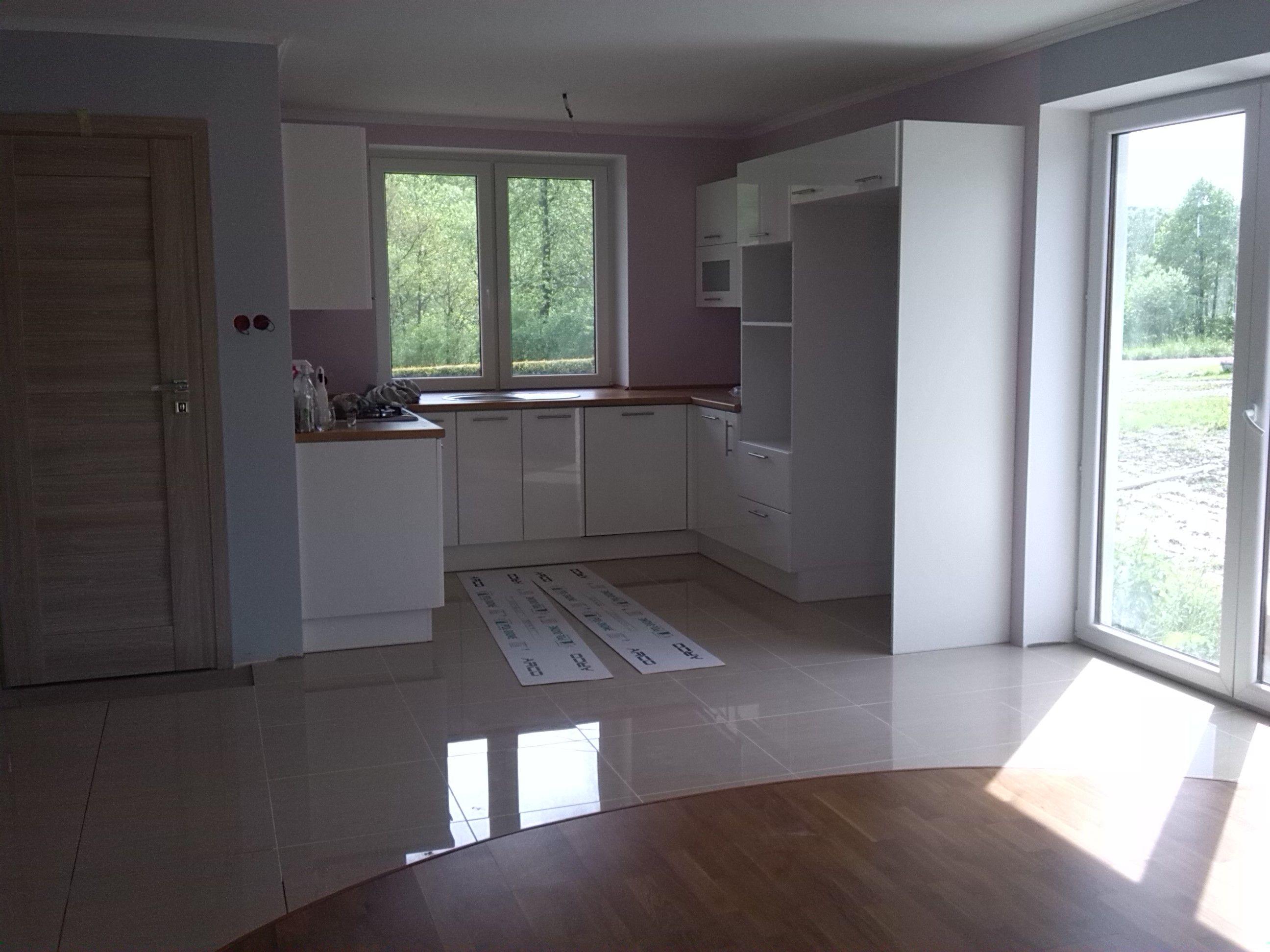 Projekt Promyk Wnetrze Salon Kuchnia Kitchen Windows