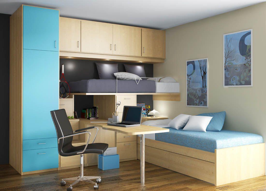 Camas nido y tren para ni os recamaras juveniles for Ofertas de muebles juveniles
