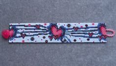 Love Beams Bracelet Pattern Peyote Stitch por CreativeGoods