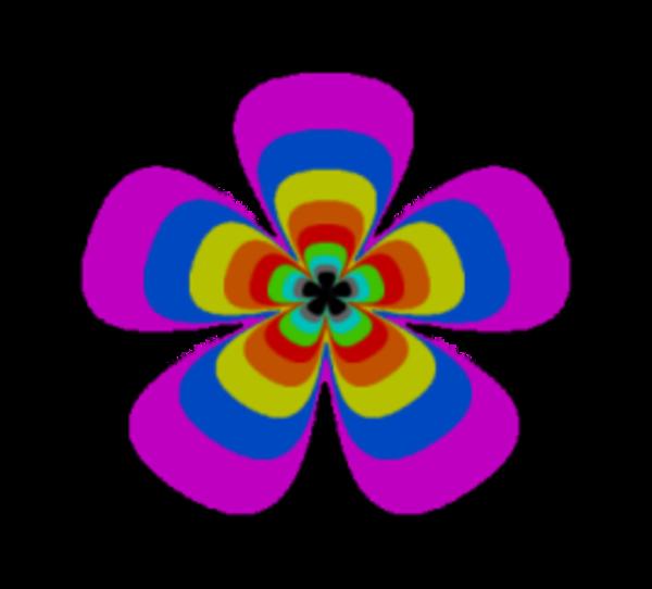 60s retro clip art flower image vector clip art online royalty rh pinterest com 60's flower power clipart flower power clip art free