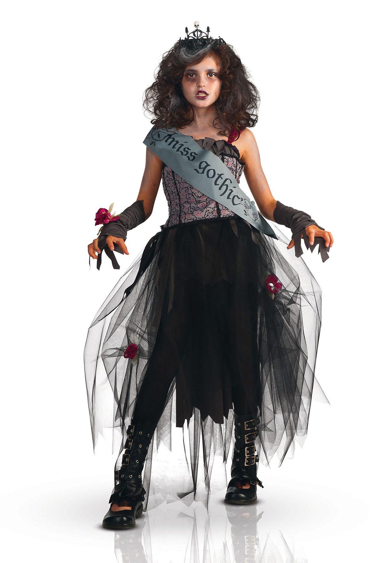 disfraz miss gothic para nia vegaoo compra de disfraces nios disponible en