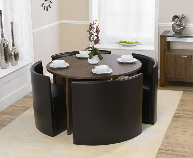 Room Bentley Walnut Dining Table