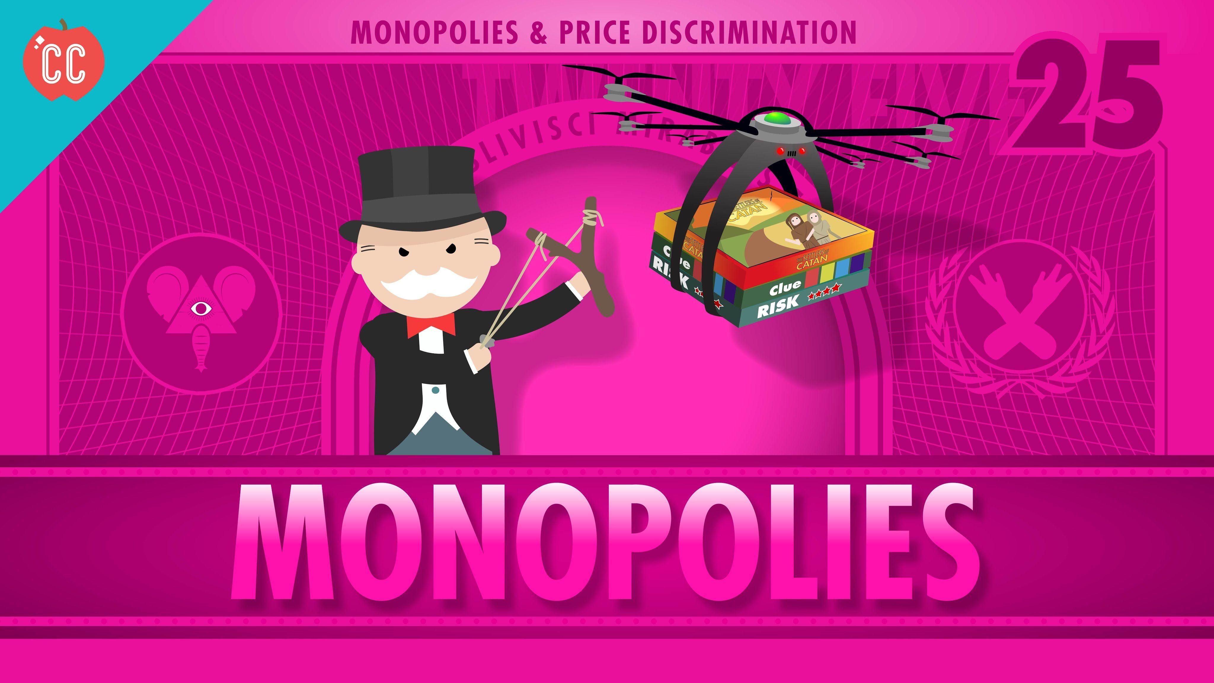 Monopolies And Anti Competitive Markets Crash Course