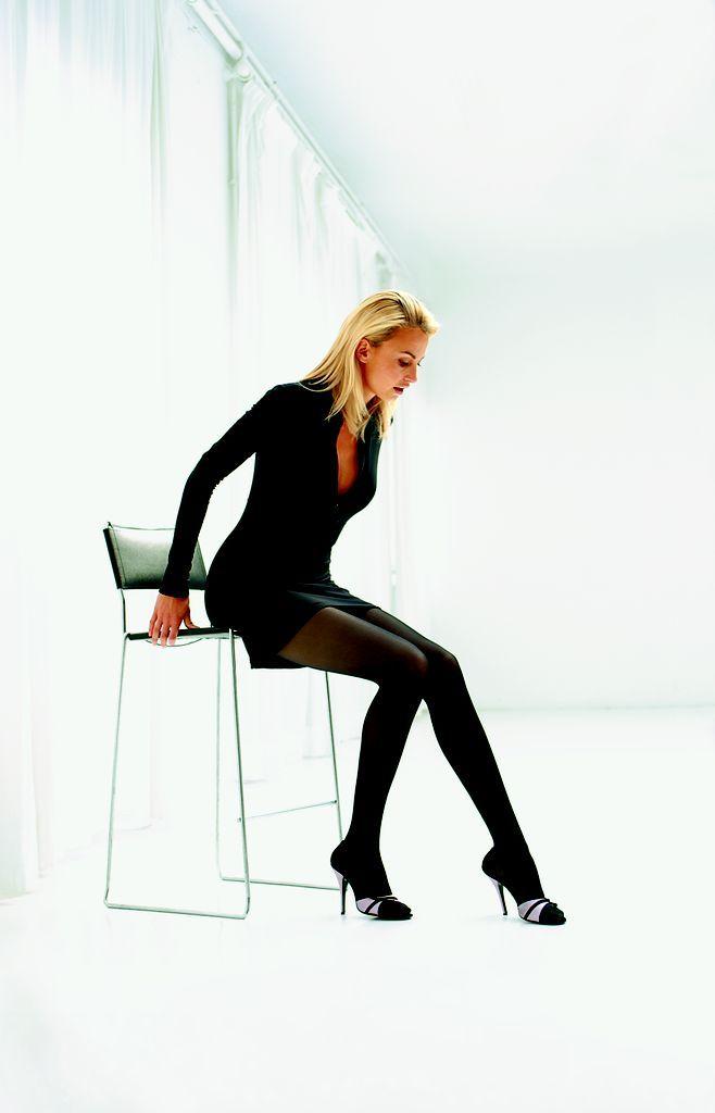 #Collant riposante #Segreta - modello Young, 70 den, energizzante, velato, maglia a rete. #Calze madeinitaly
