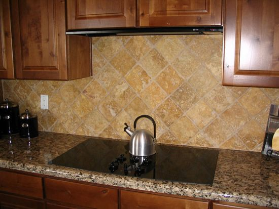 Granite Countertops And Kitchen Tile Backsplashes