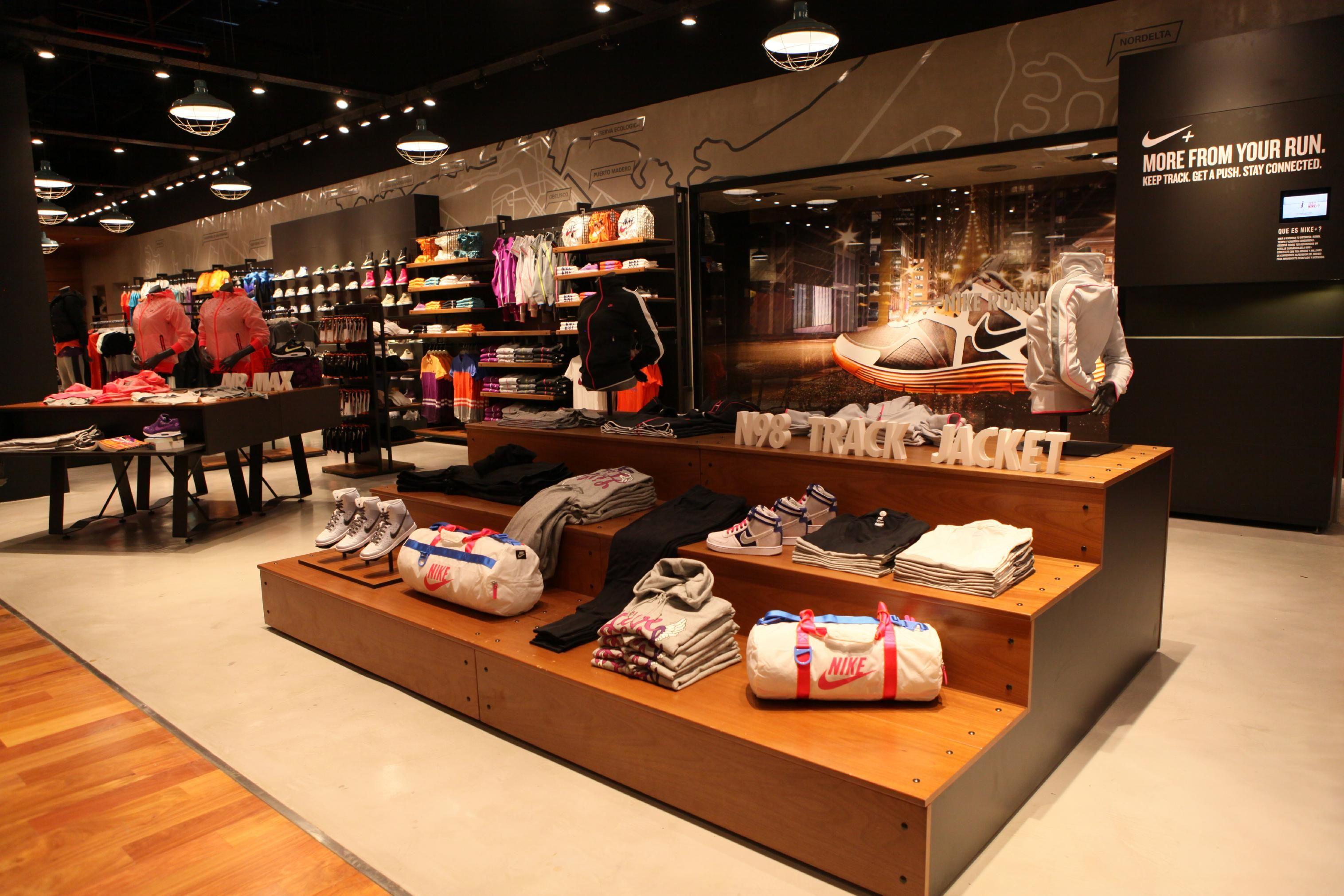 Nike Store Inside