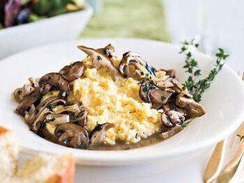 Photo of Ragoût of Mushrooms With Creamy Polenta