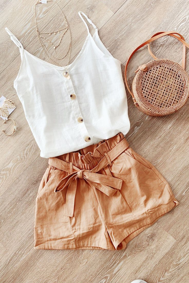 All Buttoned-Up Tank