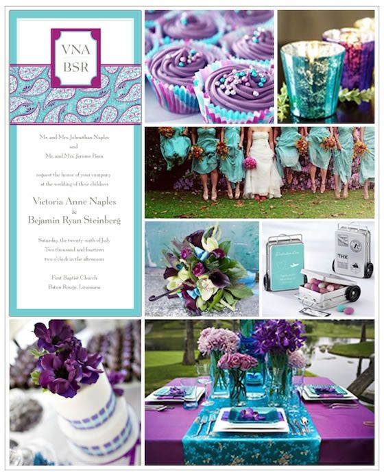Plum teal wedding best site hairstyle and wedding dress for man exclusively weddings invitations wedding favors gifts bridal junglespirit Images