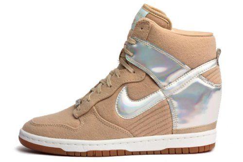 release date: b8db4 a0994 Nike Womens Sky Hi City Fw Qs Silver Linen 598216-003 8.5 Nike,http