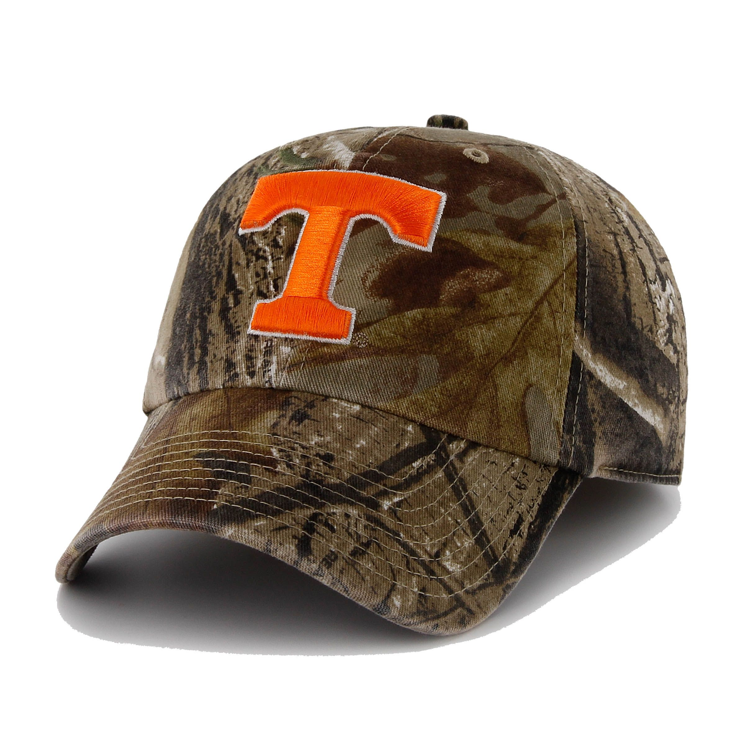 new products 068be d3393 Tennessee Volunteers 47 Brand Camo Clean Up Adjustable Hat (Camo Orange)