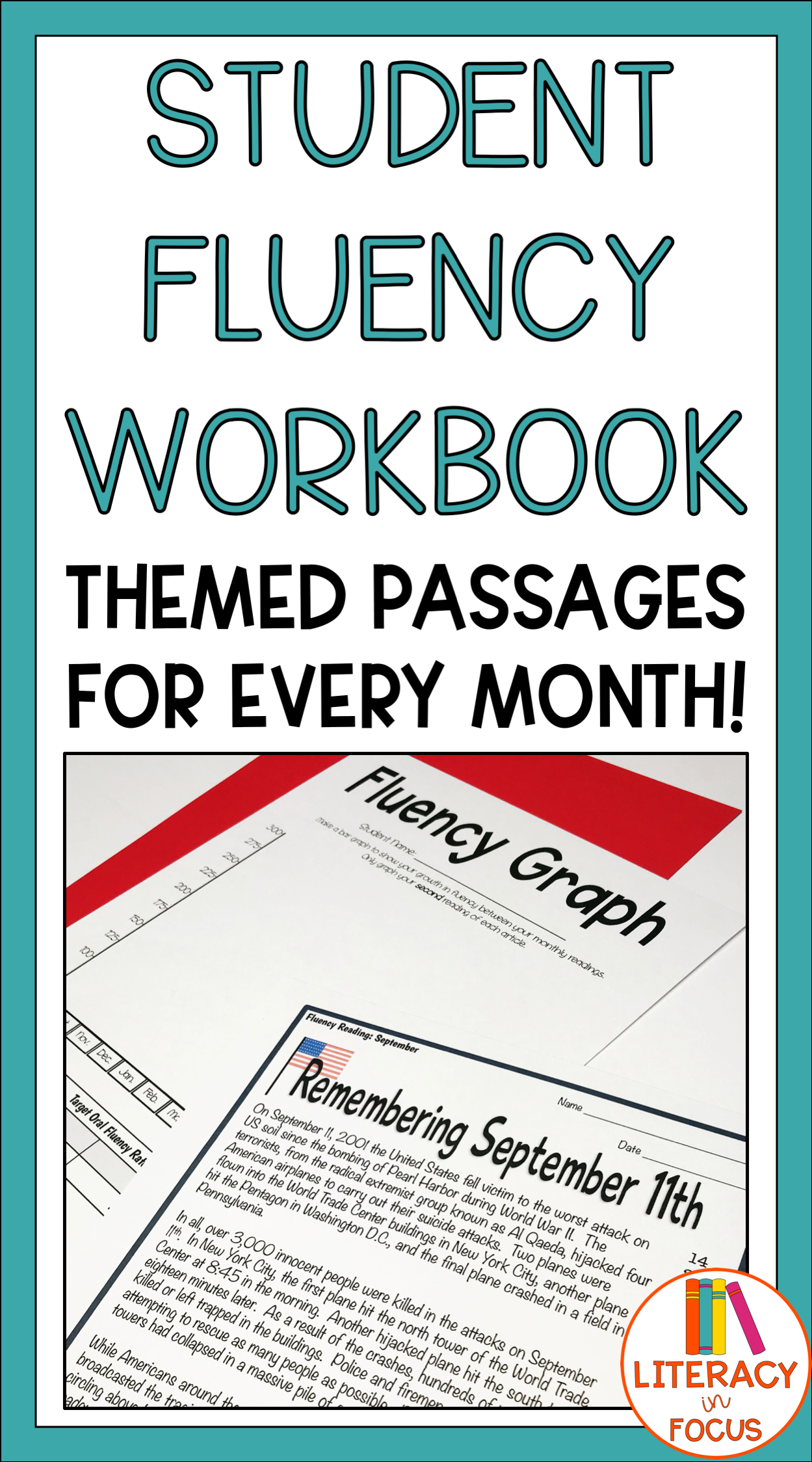 Monthly Fluency Practice Themed Fluency Passages For