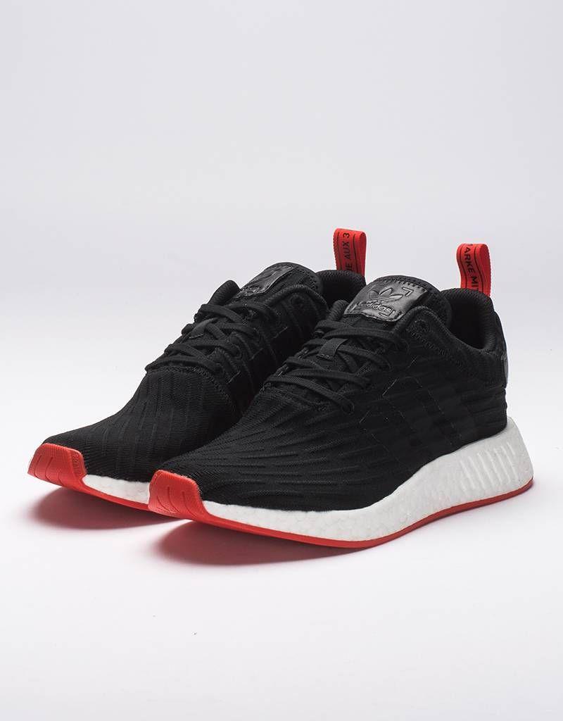 3e232bd99f82 adidas NMD R2 PK Black Red €139