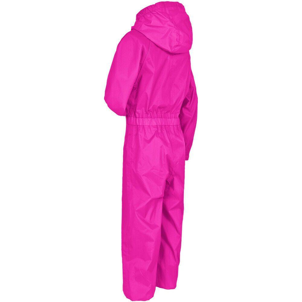 47259f53484 eBay  Sponsored Trespass Girls Button II Waterproof Breathable Elasticated  Rain Suit