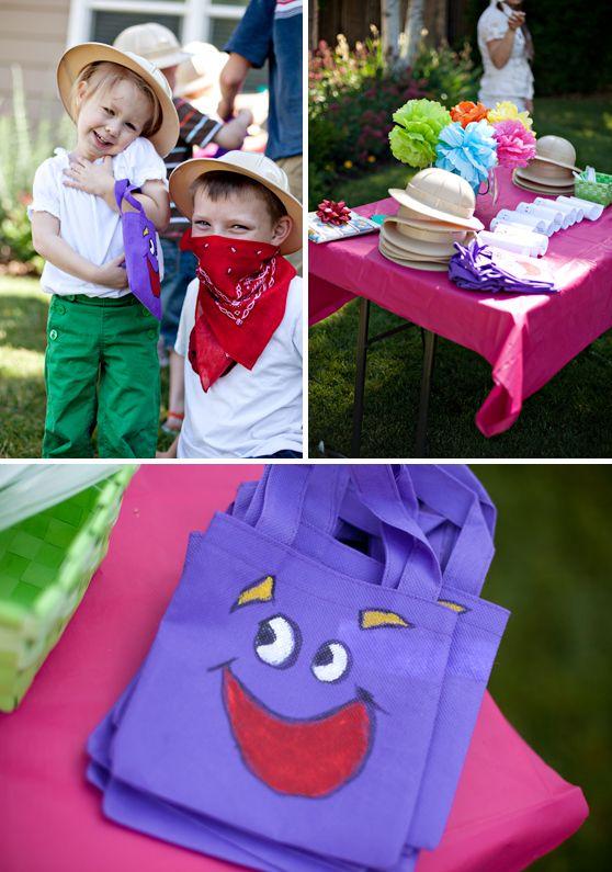 Dora Birthday Party Ideas Dora The Explorer 4th Birthday Party
