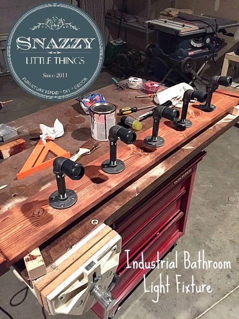 Diy Bathroom Vanity Lights Easy Craft Ideas