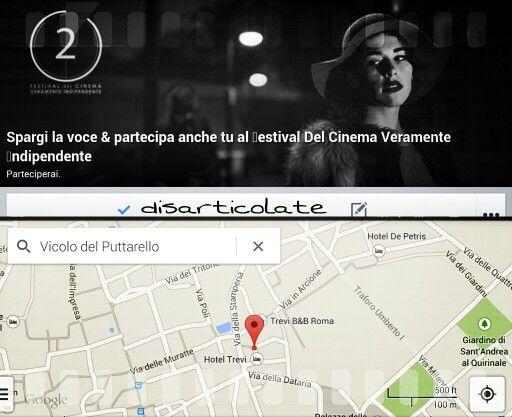 #disarticolate #art #cinematografia #cinema #festival #Independent ded line 31 dicembre @ vicolo del puttarello Roma
