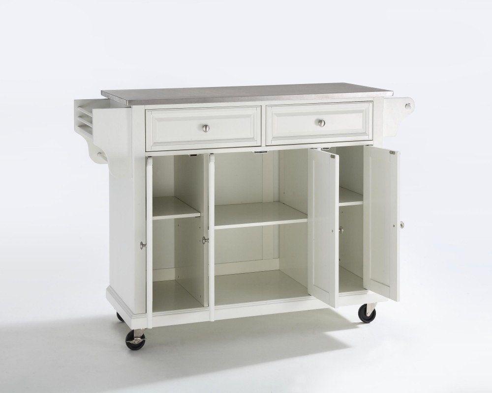 Tall Kitchen Cart On Wheels