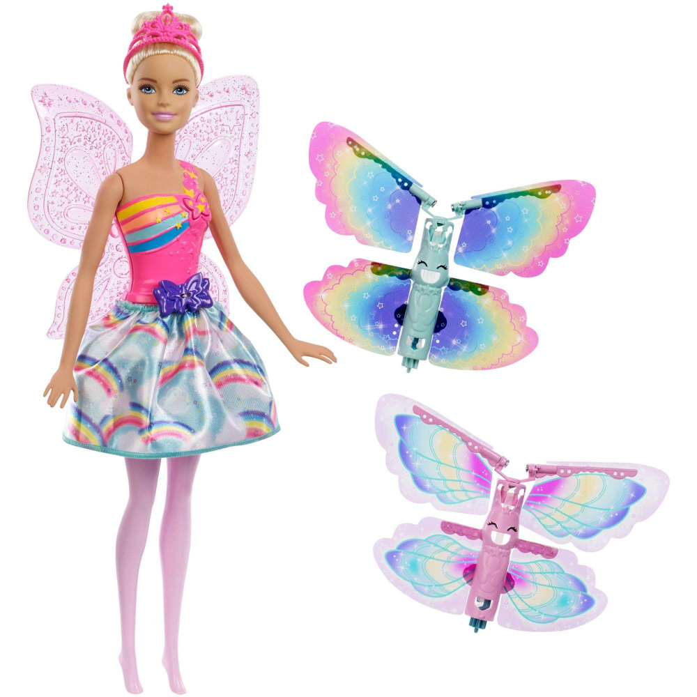 Barbie Dreamtopia Flying Wings Fairy Doll With Blonde Hair Walmart Com Barbie Fairy Fairy Dolls Barbie