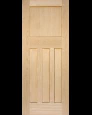 1930s Oak Four Panel Door