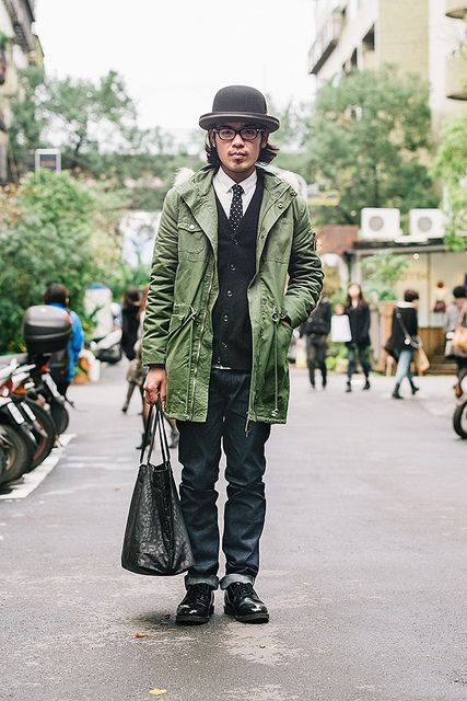 ray ban repair rkpm  Ho Chung Wei, Camera lens repair technician NHD hat, Ray Ban glasses, Wack  Maria tie, Uniqlo sweater, PLAIN shirt and pants Taiwan brand, Redwing  shoes,