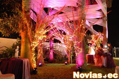 decoracion para bodas guayaquil quito ecuador | telas para el techo