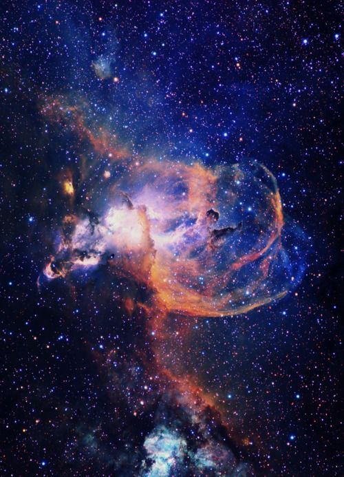NGC 3576 Nebula. The wonders of the universe, space ...
