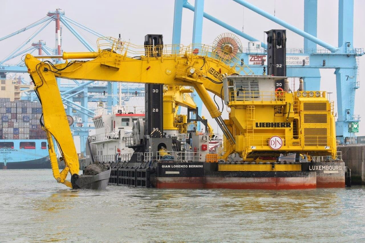 Toys For Trucks Everett : Liebherr a ponton excavator type p recently