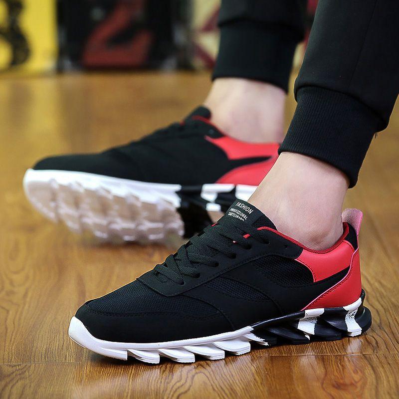 huge discount 495b4 a36e9 Nuevo Moda para Hombre Informal Tenis Zapatos Deportivos Calzado Atlético  corriendo al aire libre   Ropa, calzado y accesorios, Calzado para hombres,  ...