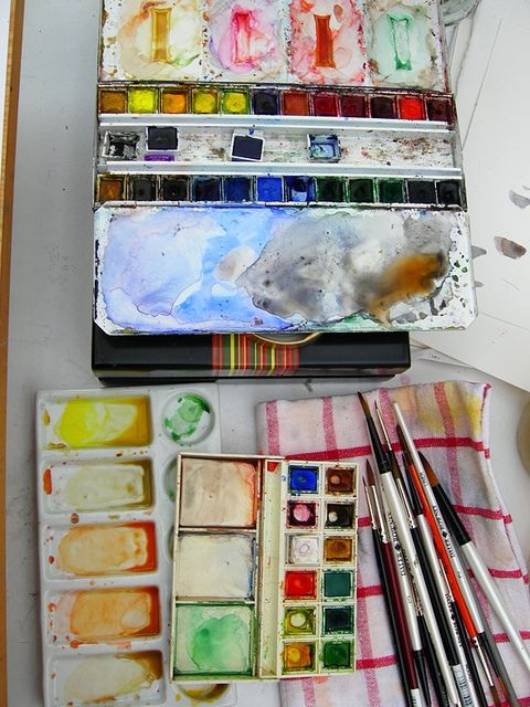 Aquarelle Watercolor Kit Watercolor Art Book Art