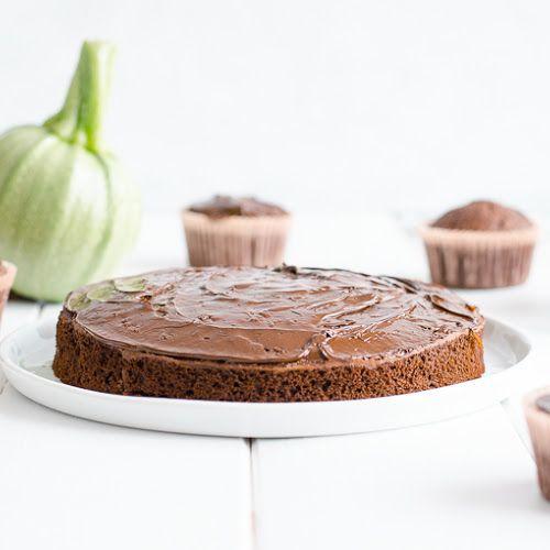 Gâteau au chocolat et à la courgette sans beurre | Gateau ...